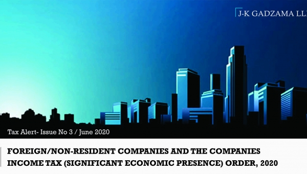 Foreign/Non-Resident Companies and the Companies Income Tax (Significant Economic Presenc) Order, 2020
