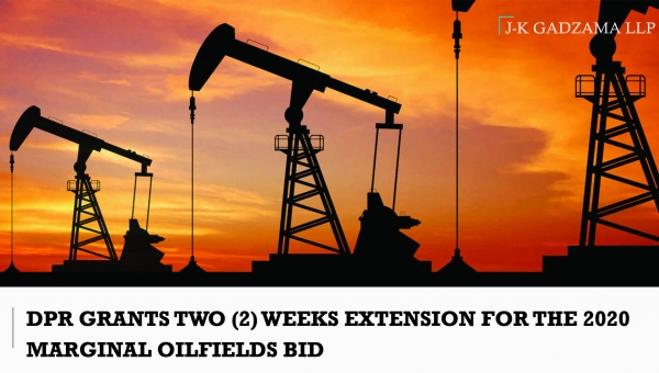 DPR Grants Two (2) Weeks Extension For The 2020 Marginal Oilfields Bid