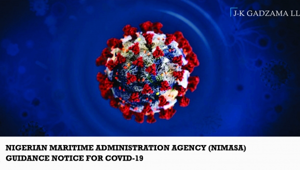 Nigerian Maritime Administration Agency (NIMASA) Guidance Notice for Covid-19